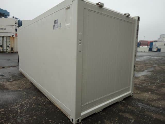Container isotherme 20 pieds sans machinerie goliat for Tarif container occasion