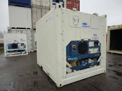 container frigo d'occasion 10 pieds inox