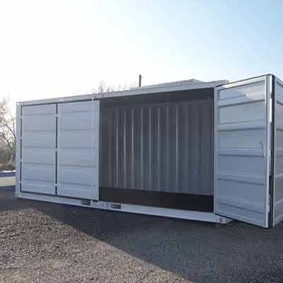 container open side 20 pieds petit prix goliat. Black Bedroom Furniture Sets. Home Design Ideas