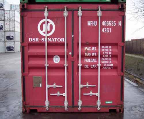dimensions d'un container 40 pieds high cube