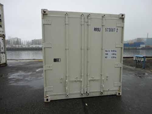 container frigo d'occasion 10 pieds