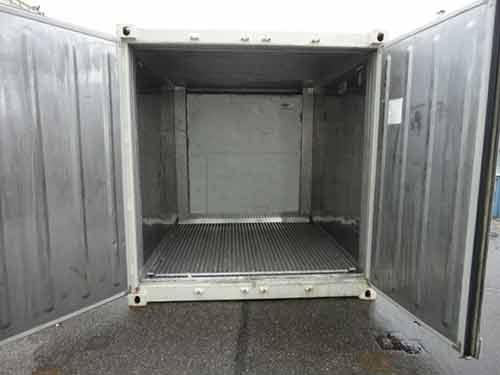 interieur container frigo 10 pieds inox