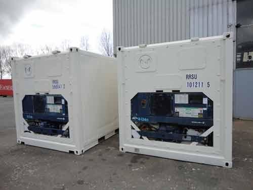 container frigorifique neuf couleur blanc 33m³