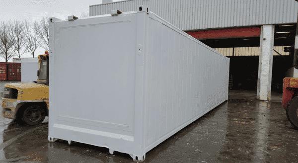 container 40 pieds sans machinerie