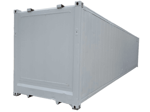 Container isotherme 40 pieds sans machinerie for Cout container maritime