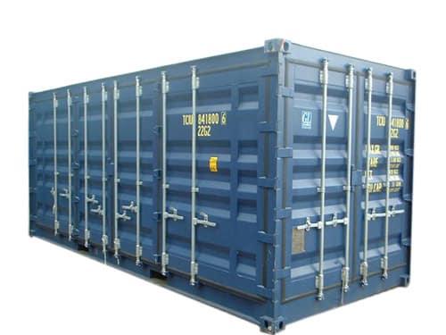 Container open side 20 pieds petit prix goliat for Tarif conteneur maritime