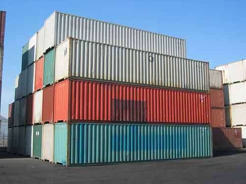 container maritime occasion 40 pieds