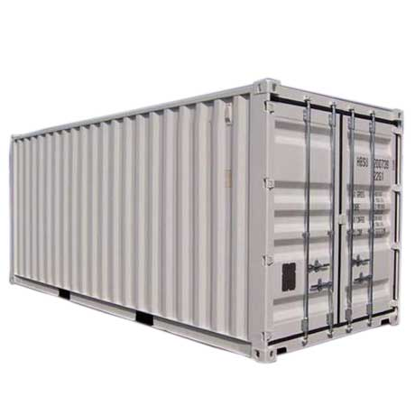 container 20 pieds occasion blanc