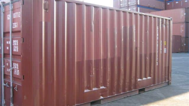 Classification Des Containers Dry
