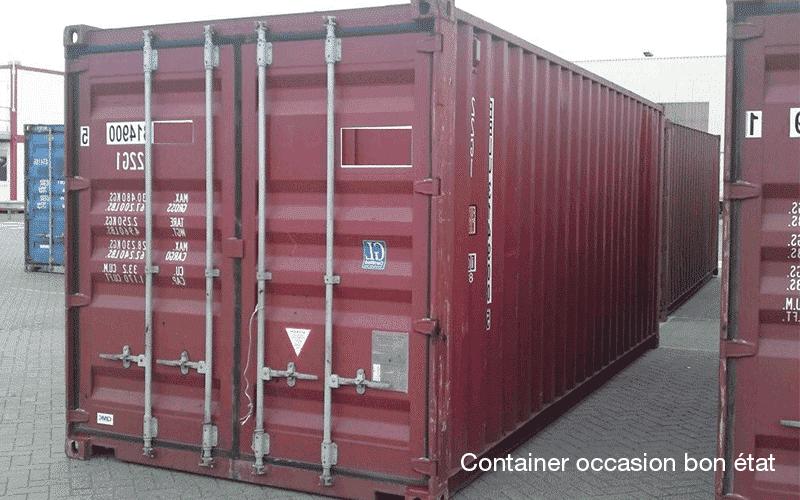 Le prix d 39 un container maritime d 39 occasion goliat for Achat conteneur maritime