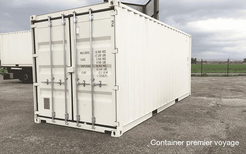 le prix d 39 un container maritime d 39 occasion goliat. Black Bedroom Furniture Sets. Home Design Ideas