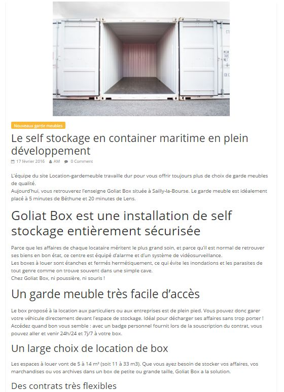 ils parlent de nous goliat containers. Black Bedroom Furniture Sets. Home Design Ideas