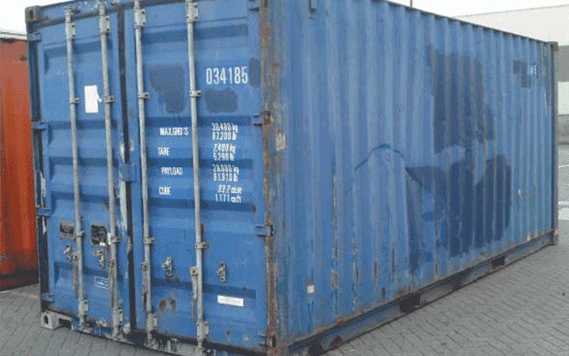Acheter un container d 39 occasion dernier voyage goliat for Achat container