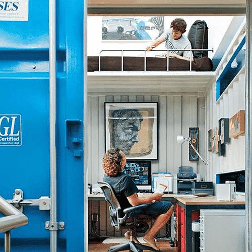 Achetez un container paris pour en faire un bureau for Conteneur maritime occasion pas cher