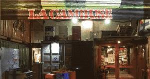 La cambuse, restaurant dans un container