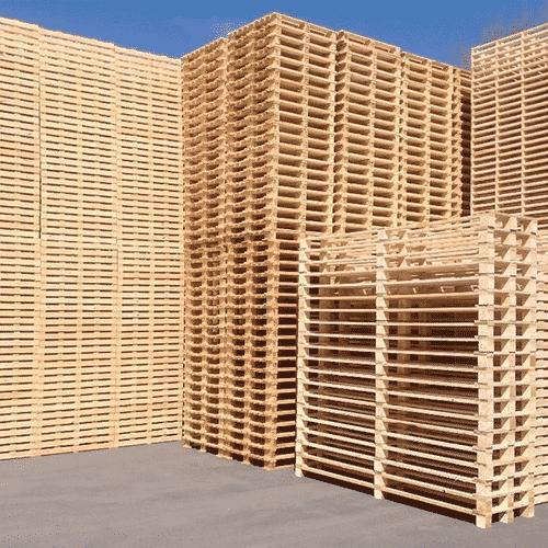 combien de palettes disposées dans un conteneur maritime
