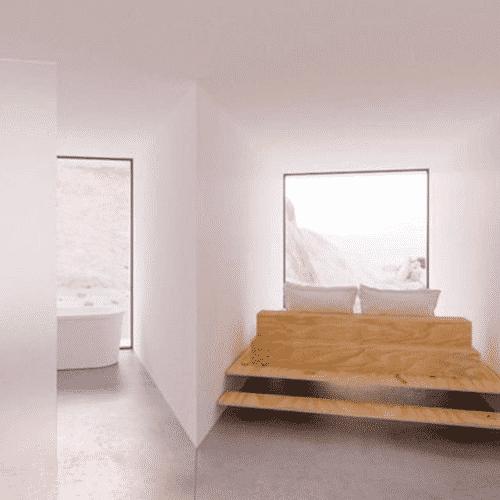 maison container avec des 40 pieds dans le d sert californien. Black Bedroom Furniture Sets. Home Design Ideas