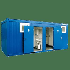 module sanitaire wc et douche 20 pieds 6m