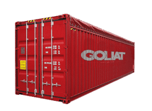 France container open top 40 pieds 40 ft