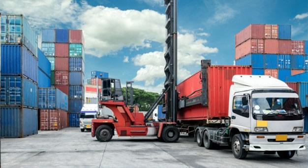 Transport et livraison containers goliat 3