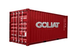 france container maritime Goliat 20 pieds 20 ft