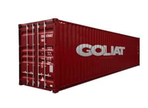 france container maritime Goliat 40 pieds 40 ft high cube