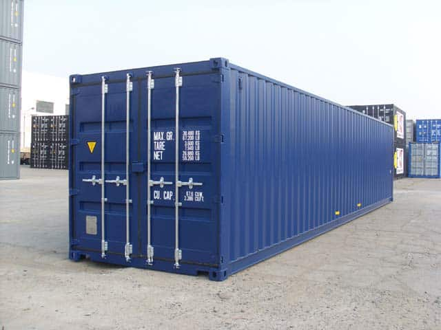 Container Maritime 40 Pieds Goliat Containers