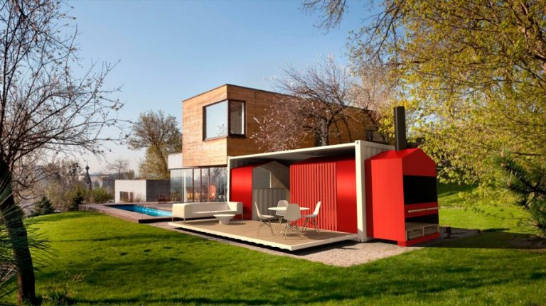 House container goliat design