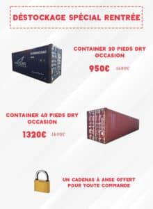 Promotions Containers Goliat Départ Anvers