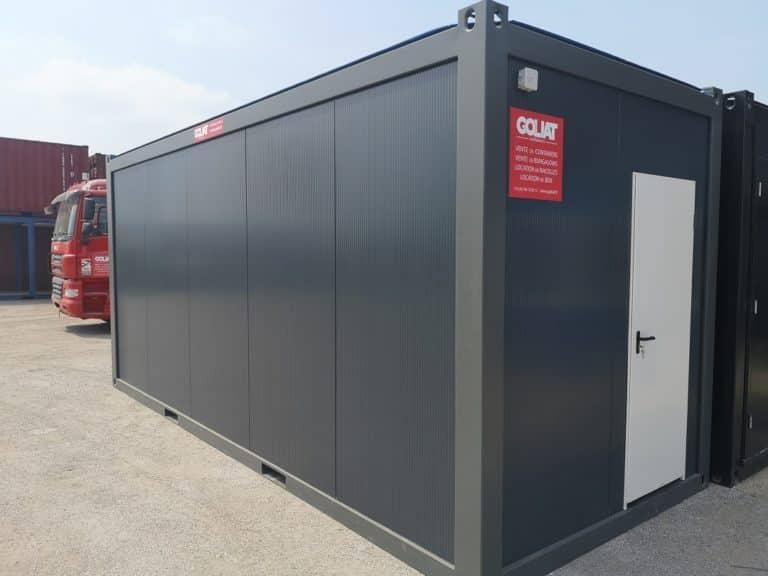 Bungalow bureau Bungalo de chantier Module préfabriqué Gamme pro Goliat Containers