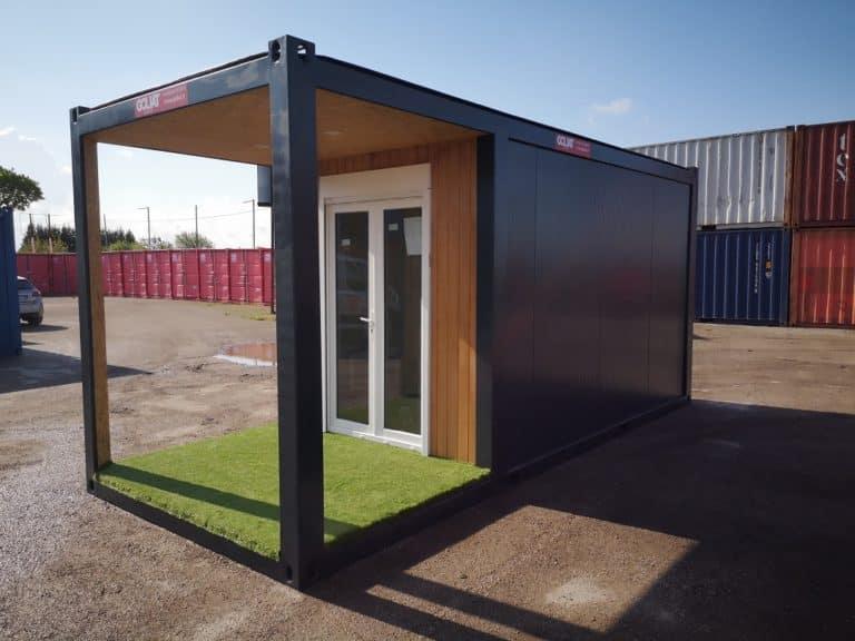 Modules préfabriqués container modulaire Studio de jardin Goliat Containers
