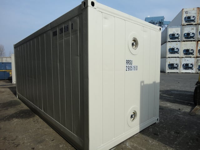Exterieur contenur isotherme 20 pieds GOLIAT Containers