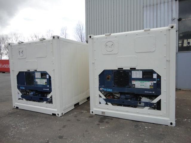 Conteneurs frigorifiques 20 pieds et 40 pieds occasion GOLIAT Containers