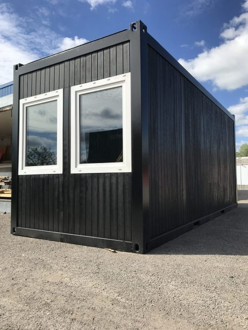 Bâtiment modulaire Container Solution modulaire standard Goliat Containers