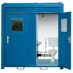bungalow sanitaire WC 08 pieds