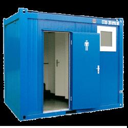module sanitaire 10 pieds