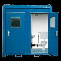 Module sanitaire 8 pieds wc et douche